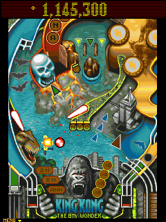 لعــبـة King Kong Pinball