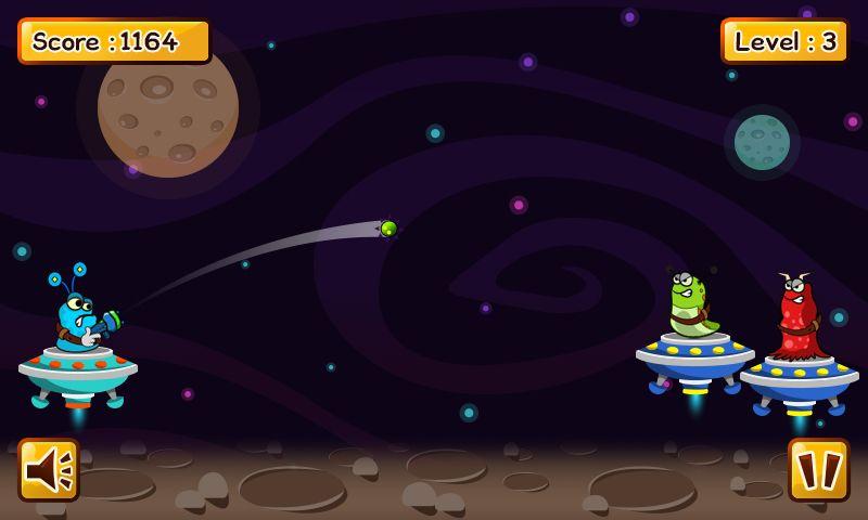 Aliens Mars Fight