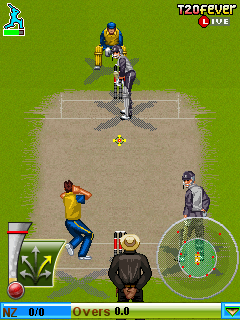 cricket java game download 128x160